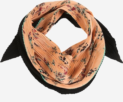 PIECES Tuch 'PCMARY PLISSÉ SMALL SQUARE SCARF' in beige, Produktansicht