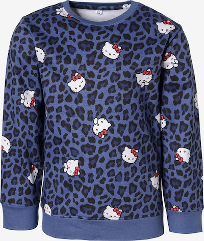 HELLO KITTY Sweatshirt in blau / rot / schwarz / weiß, Produktansicht