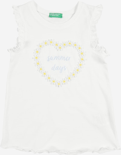 Top UNITED COLORS OF BENETTON pe alb, Vizualizare produs
