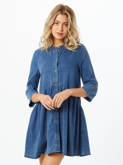 ONLY Kleid 'CHICAGO  ' in blue denim, Modelansicht