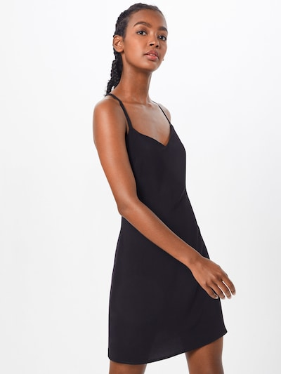 Boohoo Kleid in schwarz: Frontalansicht