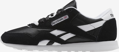 Reebok Classic Sneaker in schwarz / weiß: Frontalansicht