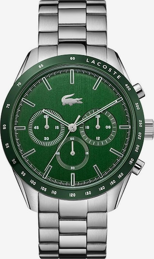 LACOSTE Uhr in grün / silber, Produktansicht