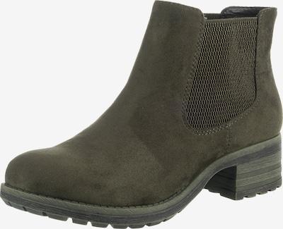 RIEKER Chelsea Boots in dunkelgrün, Produktansicht