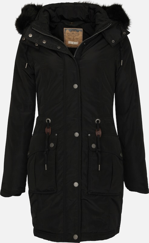 Three Master-lined Parka