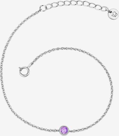 Glanzstücke München Armband '50080044' in lila / silber, Produktansicht