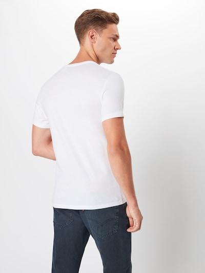 LEVI'S T-Shirt en blanc: Vue de dos