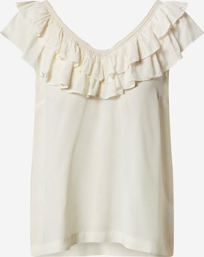 VERO MODA Shirt in de kleur Beige / Offwhite, Productweergave