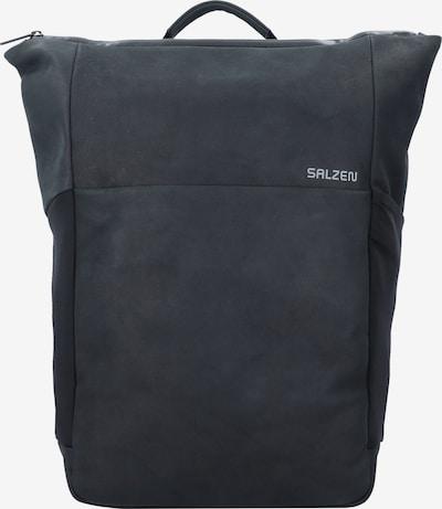SALZEN Rucksack 'Plain' in schwarz, Produktansicht
