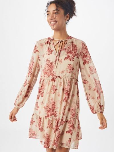 VILA Kleid in beige / rosa, Modelansicht
