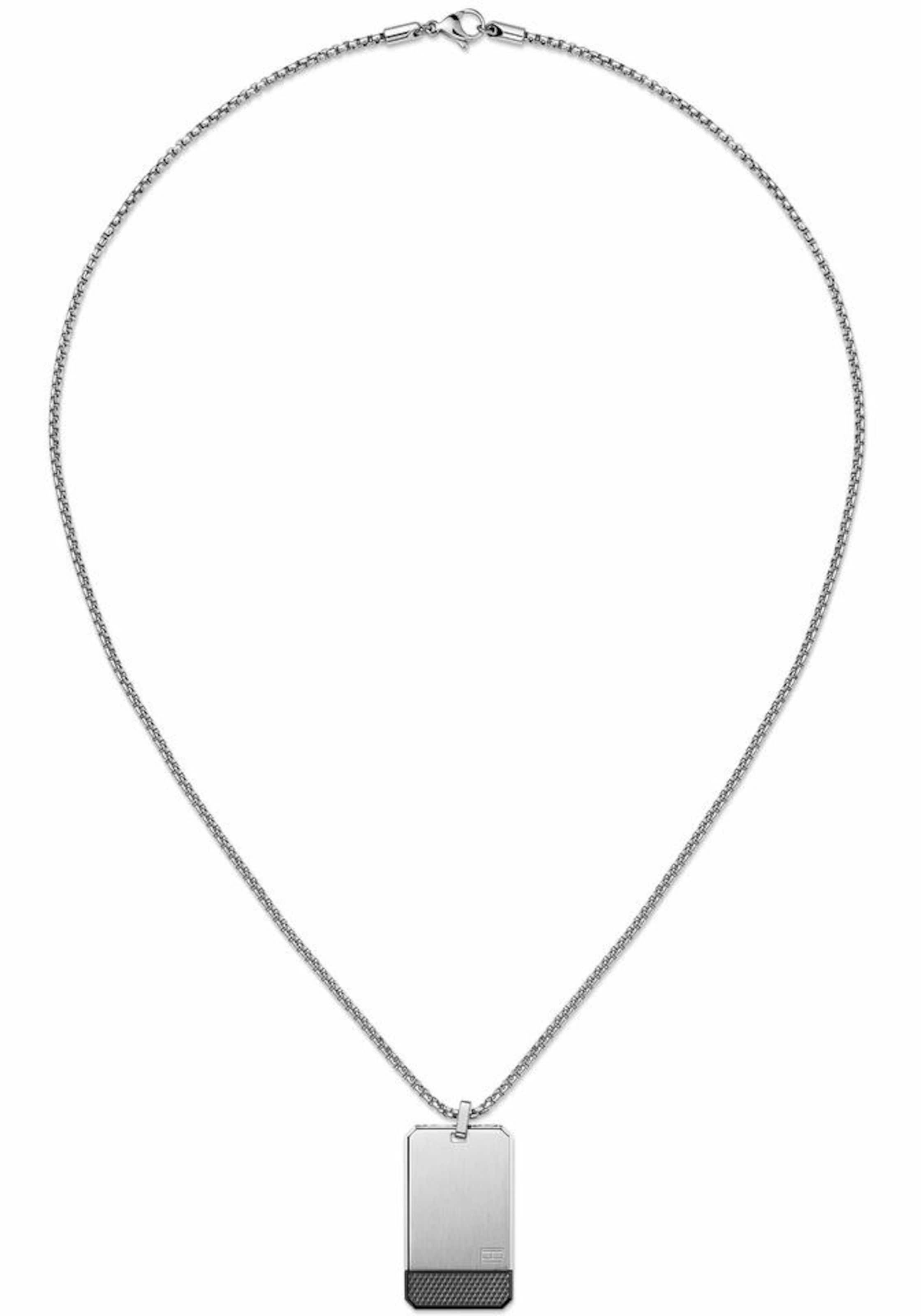 TOMMY HILFIGER Kette mit Anhänger 'Casual Core, 2701016'