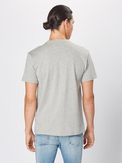 Tommy Jeans T-Shirt en gris clair: Vue de dos