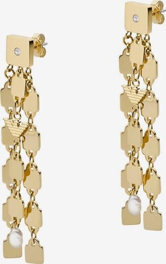 Emporio Armani Paar Ohrstecker in gold, Produktansicht