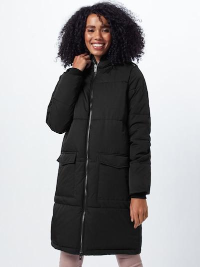 OBJECT Zimski plašč 'ZHANNA' | črna barva, Prikaz modela