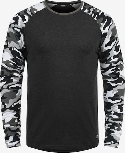 !Solid Rundhalsshirt 'Cajus' in grau, Produktansicht