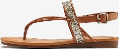 LASCANA Sandały w kolorze camelm, Podgląd produktu