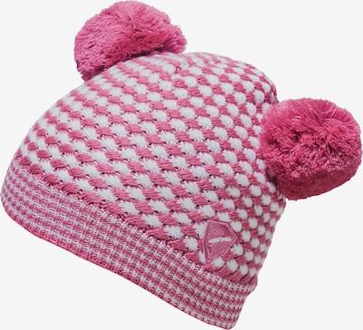 ZIENER Mütze 'Irim' in pink / weiß, Produktansicht