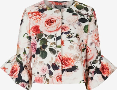 Nicowa Blazer 'GILIA' in grün / pink / rosa / altrosa / hellrot, Produktansicht