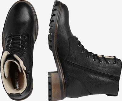 Suvarstomieji kulkšnis dengiantys batai 'Henrike' iš ABOUT YOU , spalva - juoda: Vaizdas iš šono