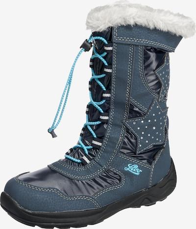 LICO Botas de nieve en azul / turquesa / blanco, Vista del producto