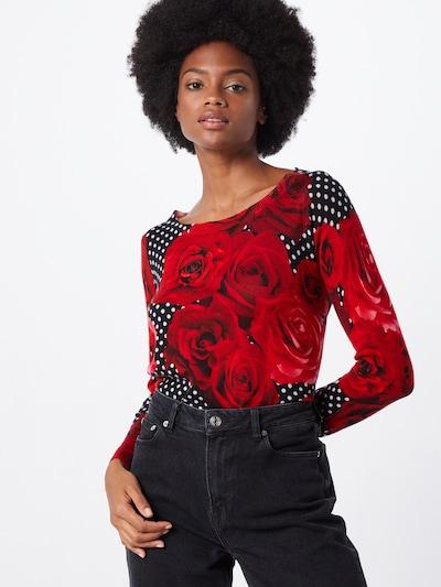 PRINCESS GOES HOLLYWOOD Trui in de kleur Rood / Zwart: Vooraanzicht