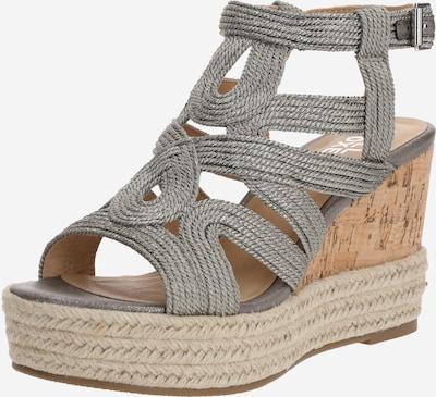 BULLBOXER Sandale in silbergrau, Produktansicht