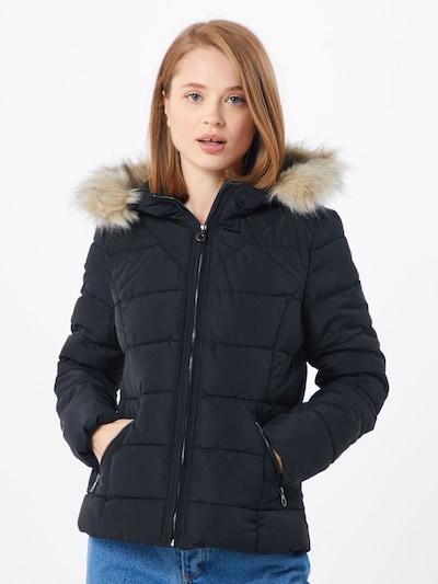 VERO MODA Zimska jakna 'MOLLIE' | črna barva: Frontalni pogled
