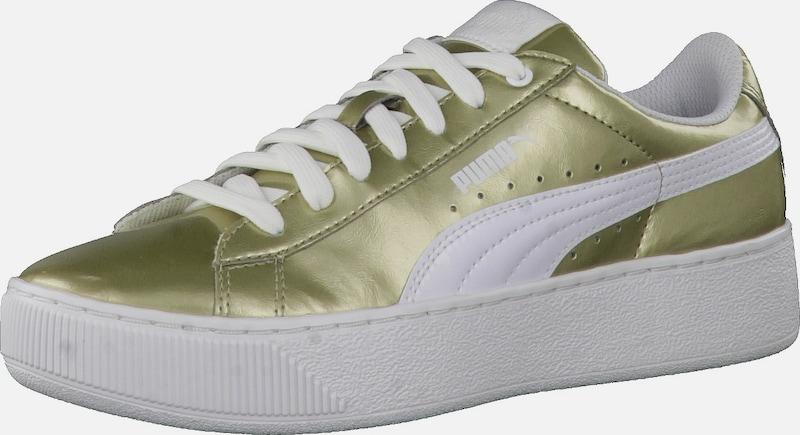 Puma Sneaker vikky Plate-forme Métallique