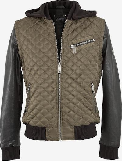 Maze Jacke 'Dunster' in khaki / schwarz, Produktansicht