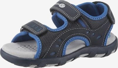 GEOX Kids Sandale 'Pianeta' in blau / kobaltblau: Frontalansicht