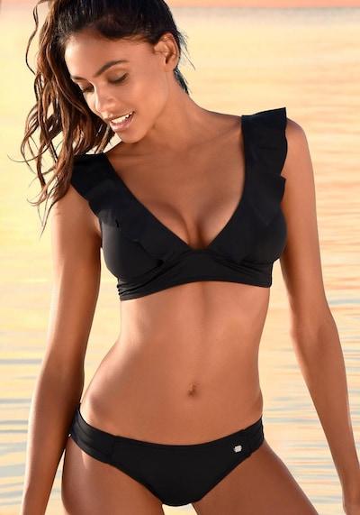 JETTE Bikini en noir, Vue avec modèle