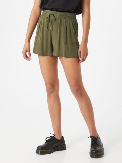 Hailys Shorts 'Maja' in khaki: Frontalansicht