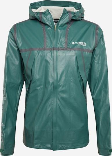 COLUMBIA Športová bunda - sivá / zelená, Produkt