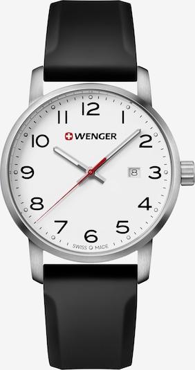 WENGER Montre à affichage analogique 'Avenue' en noir / argent / blanc, Vue avec produit