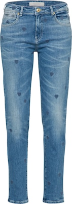 SCOTCH & SODA Jeans 'Born To Love' Petit Ami - Indigo Heart'