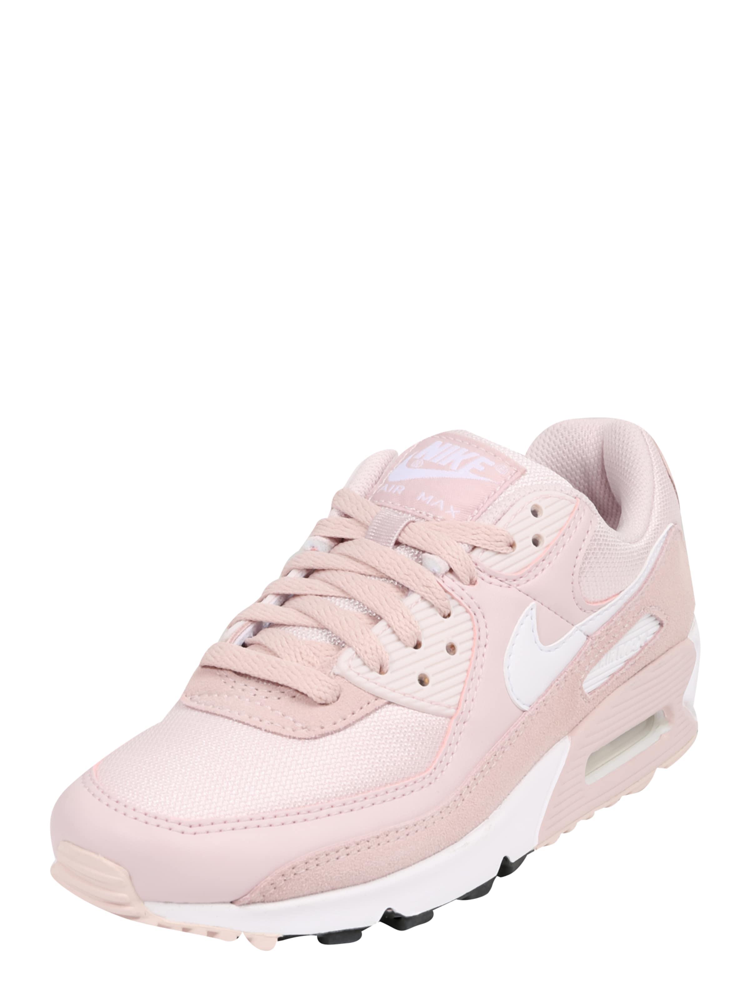 Nike Sportswear Låg sneaker 'Air Max 90' i rosa
