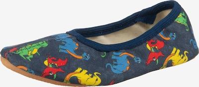 BECK Gymnastikschuh 'Dinos' in nachtblau / mischfarben, Produktansicht