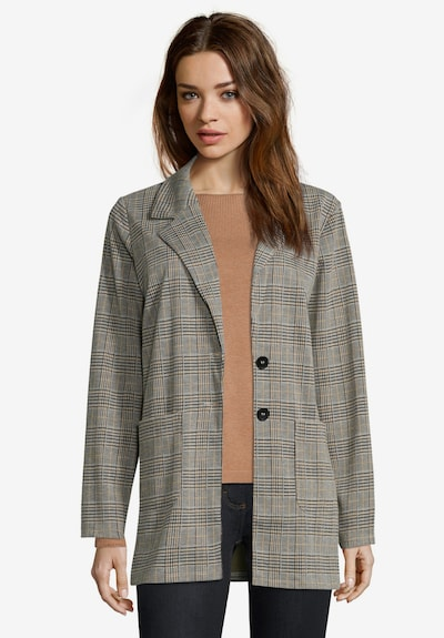 Betty Barclay Blazer in camel / grau, Modelansicht