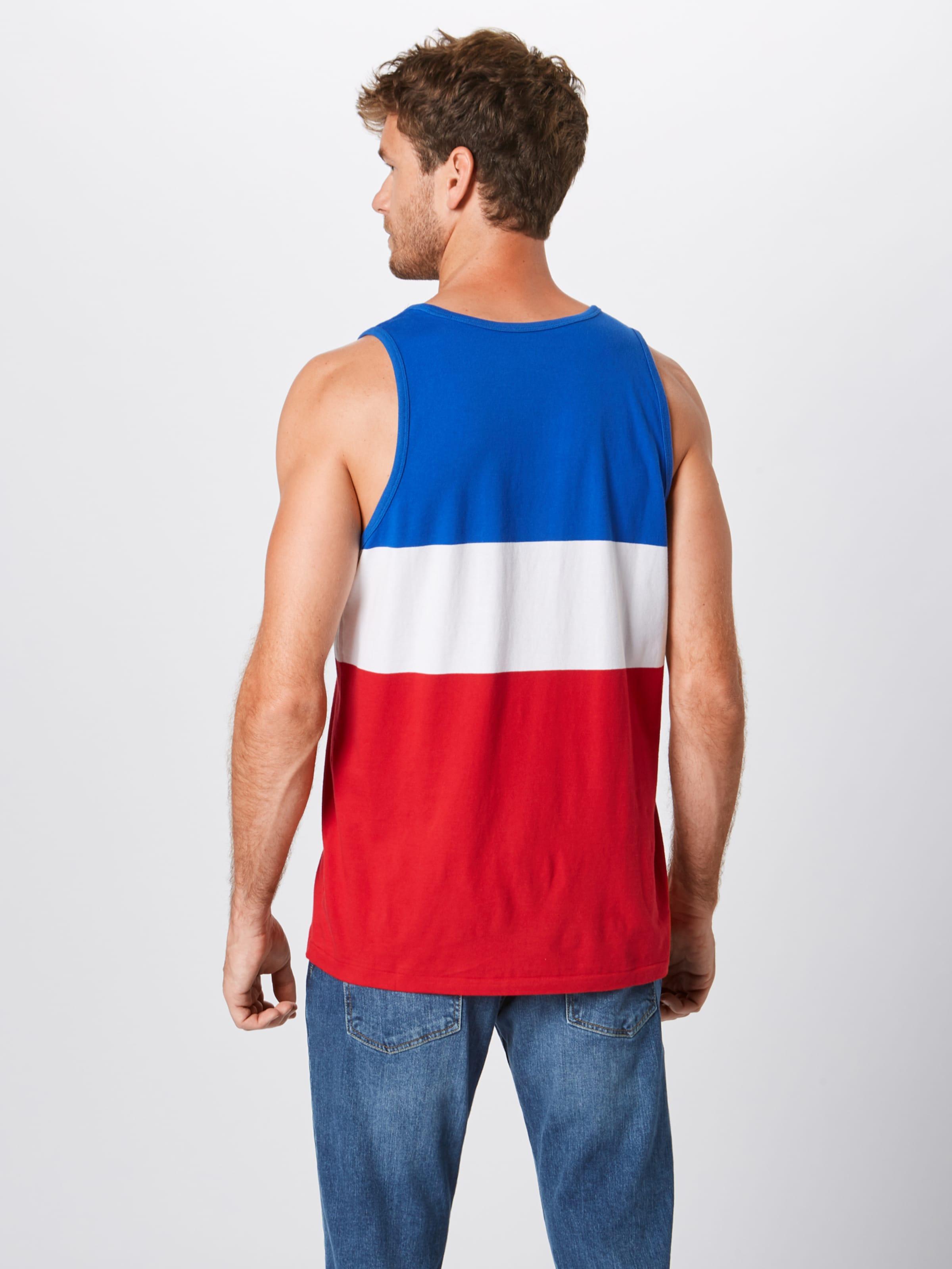 Lauren Ralph Blanc BleuRouge shirt Polo T En 2HeED9WIY