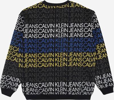 Calvin Klein Jeans Sweatshirt in mischfarben / schwarz: Frontalansicht
