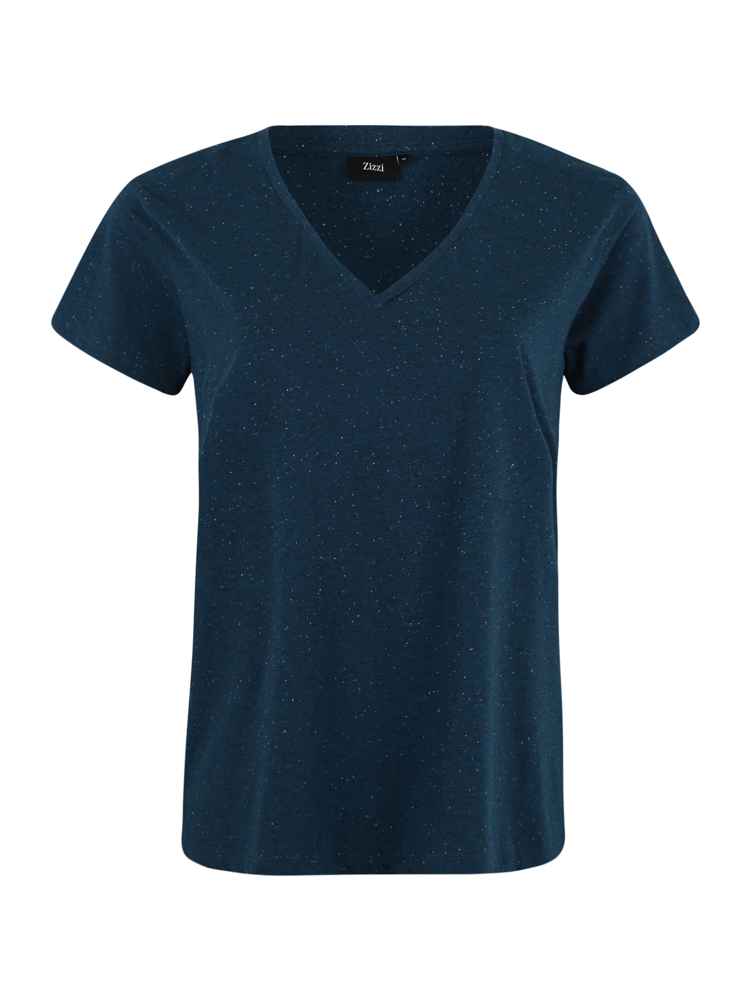 Denim Zizzi shirt En Bleu T 08nkXOwP
