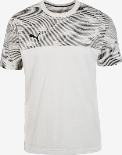 PUMA Trainingsshirt in dunkelgrau / weiß, Produktansicht
