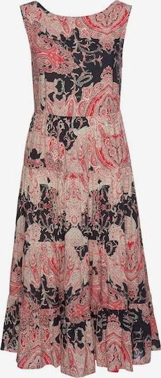LASCANA Kleid in rot / schwarz, Produktansicht