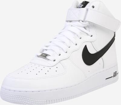 Nike Sportswear Trampki niskie 'Air Force' w kolorze czarny / białym, Podgląd produktu