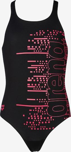 ARENA Badeanzug 'Little Stars' in pink / schwarz, Produktansicht