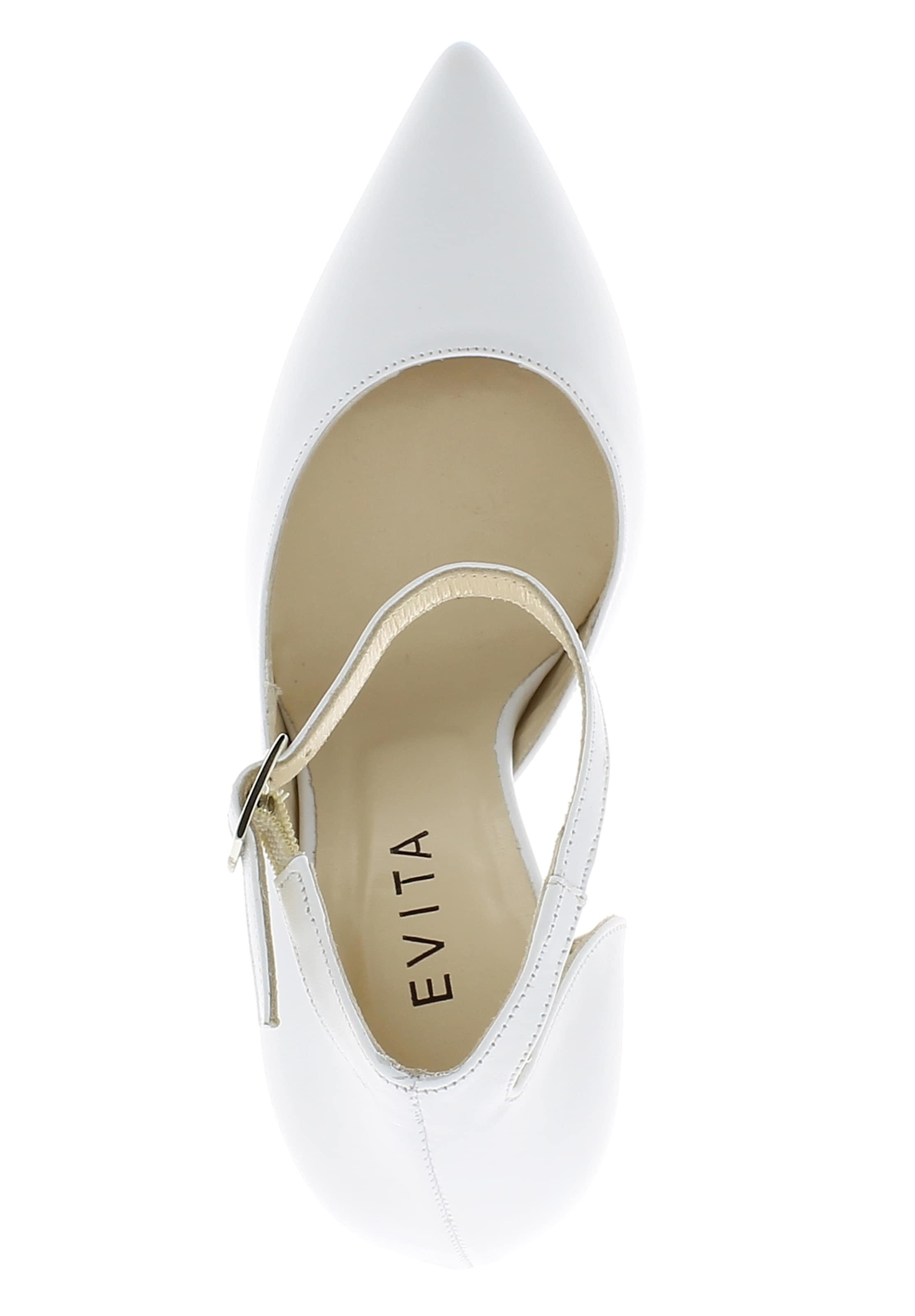 Halboffen Weiß Evita Pumps Halboffen In Evita Halboffen In Pumps In Evita Weiß Pumps vf7mIYbgy6
