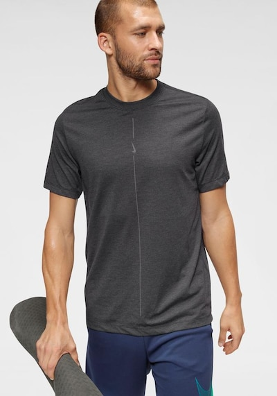 NIKE Shirt in anthrazit: Frontalansicht