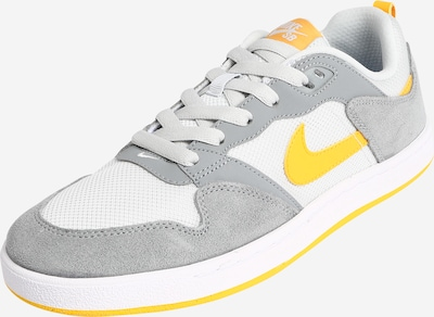 Nike SB Sportschoen 'Nike SB Alleyoop' in de kleur Geel / Grijs / Wit, Productweergave
