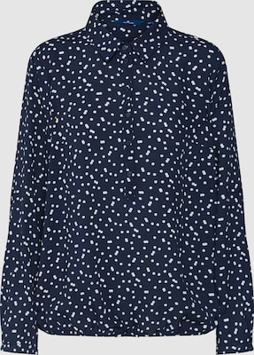 TOM TAILOR Blouse in Navy
