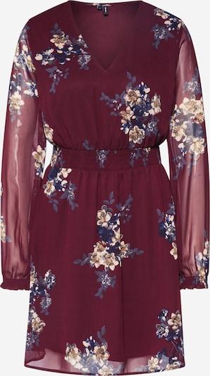 VERO MODA Kleid 'ALLIE' in weinrot, Produktansicht